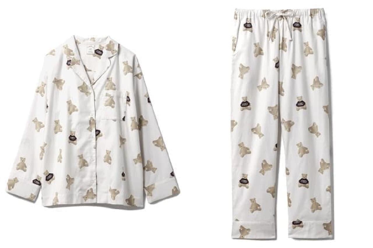 ジェラート ピケのベアネルシャツパジャマ