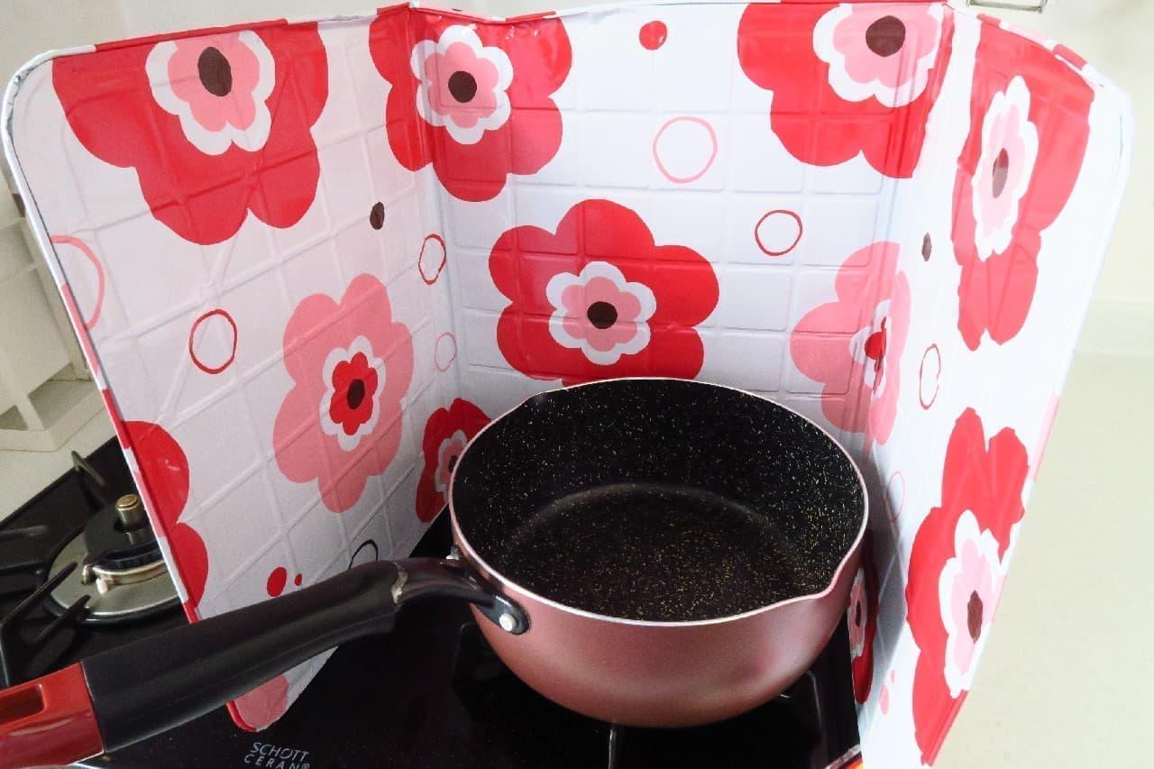 キッチンコンロ用アルミパネル