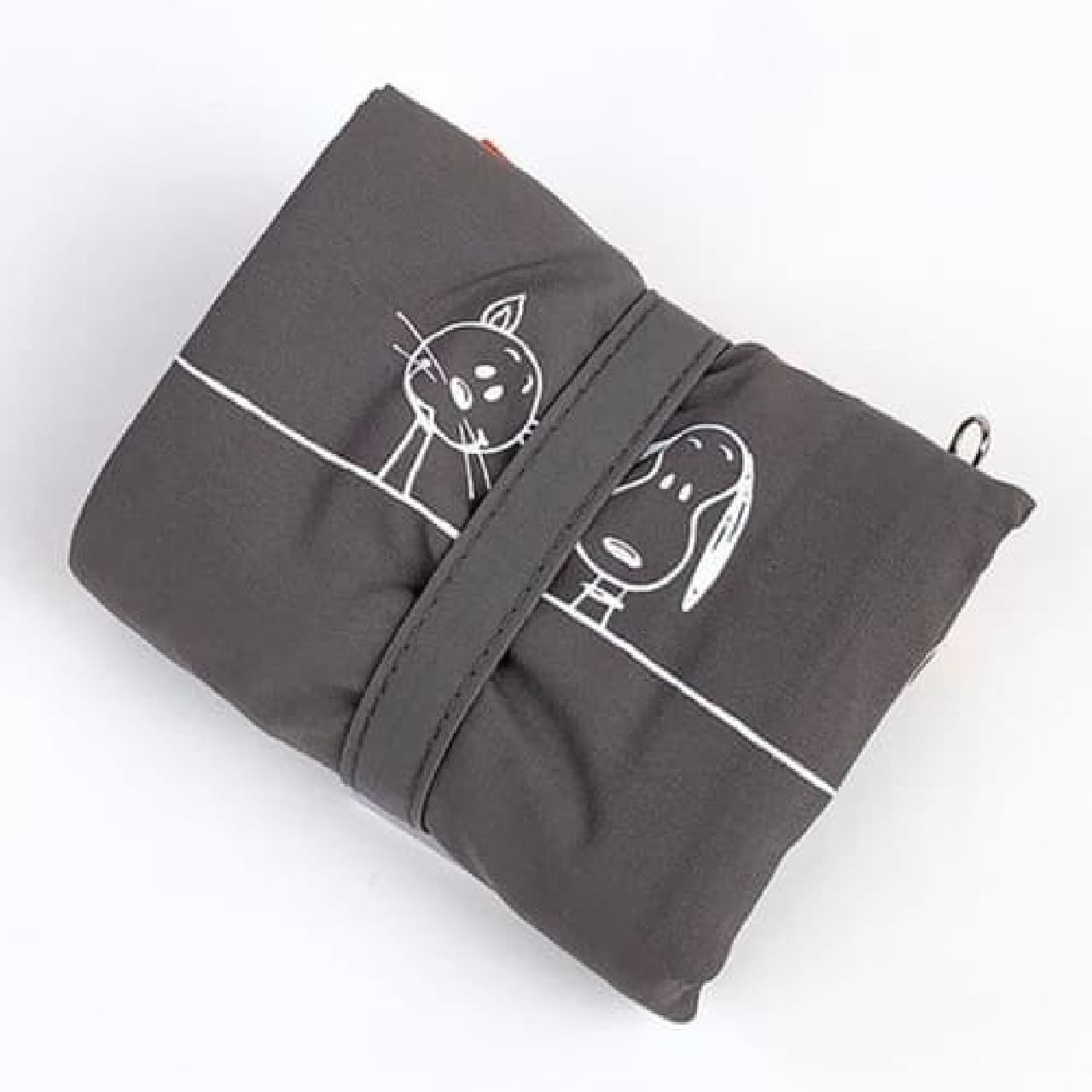 おしゃれなバイカラー♪ スヌーピー&ファーロンのエコバッグ -- 軽量コンパクトなナイロン製