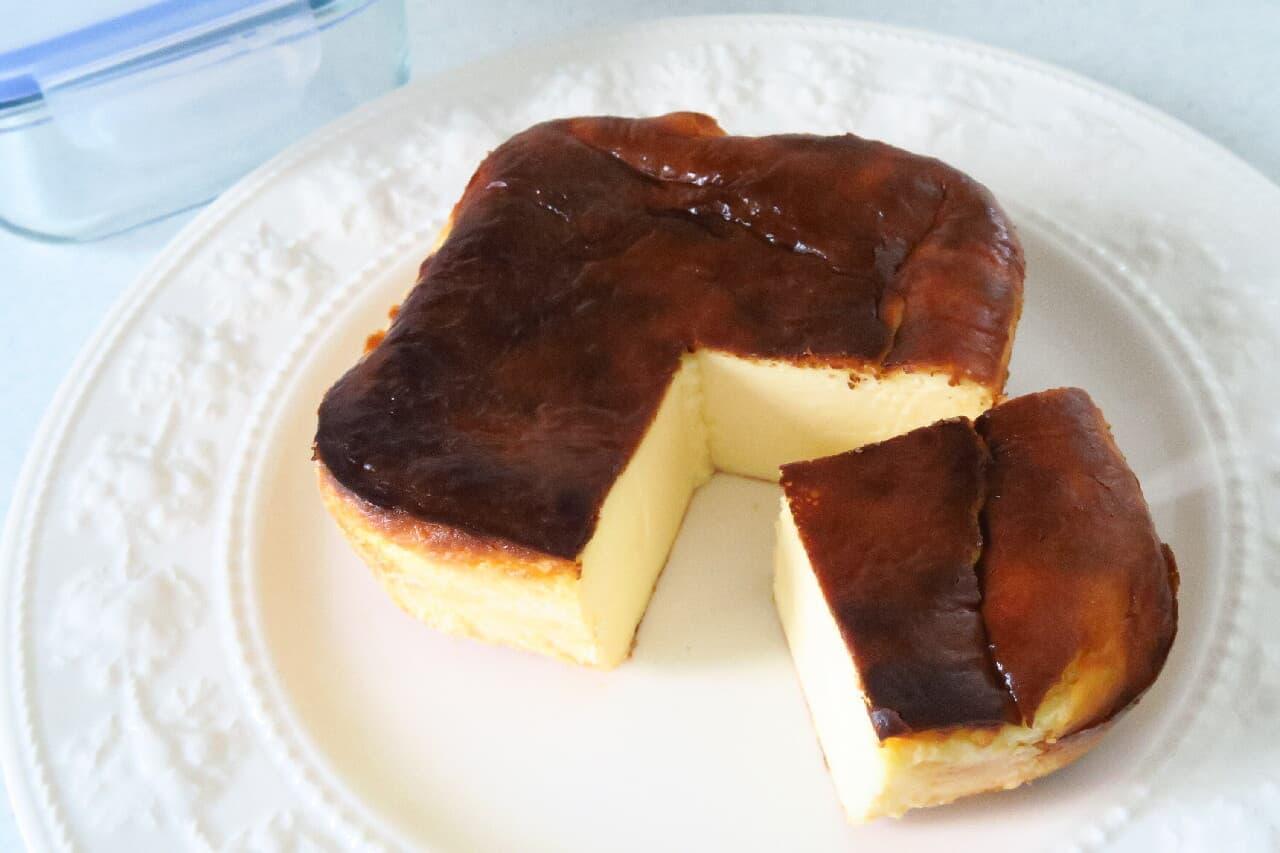 バスクチーズケーキ&ニューヨークチーズケーキのレシピ -- ホワイトチョコ入りも