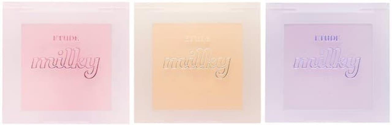 エチュードハウス ミルキーコレクション「ミルクチーク」