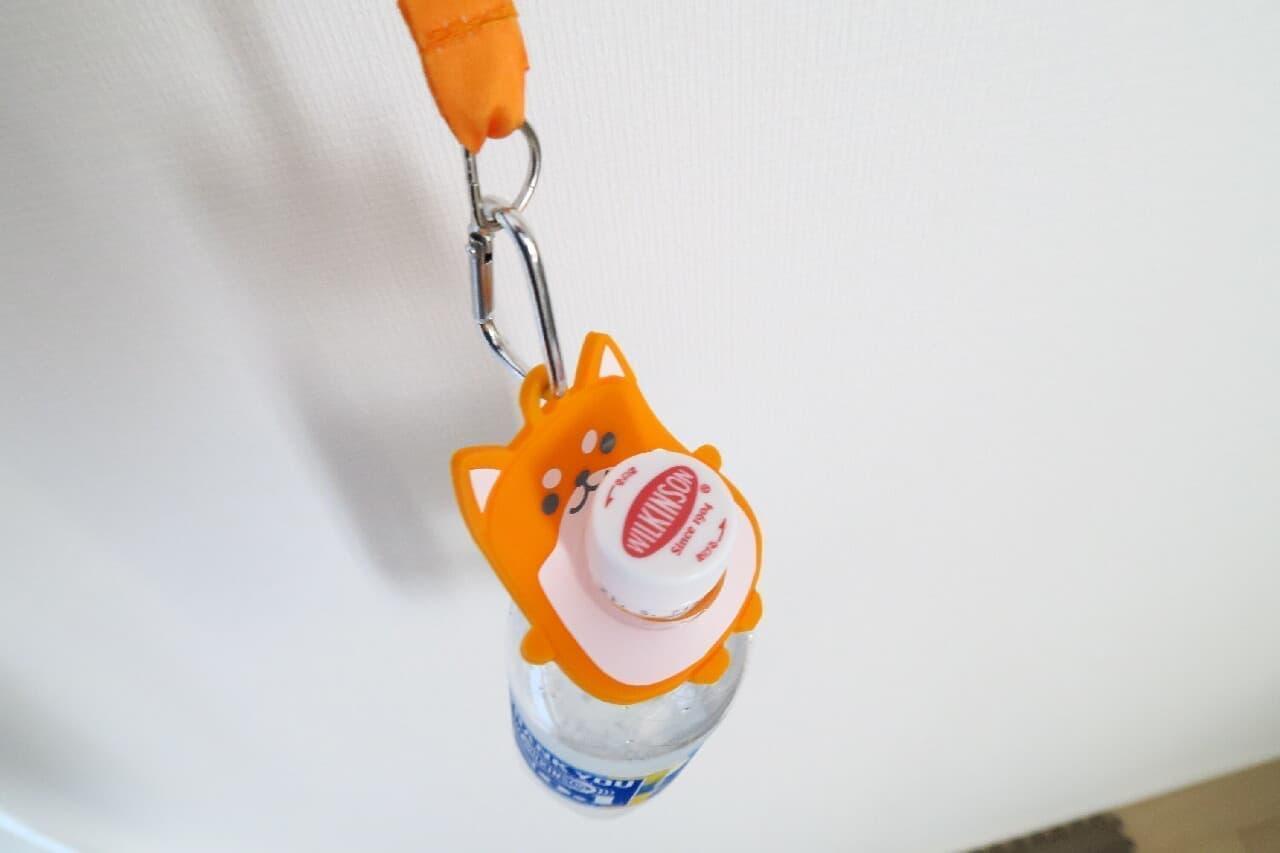 カラビナ付き♪ 100均「ペットボトルホルダー」が可愛くて実用的