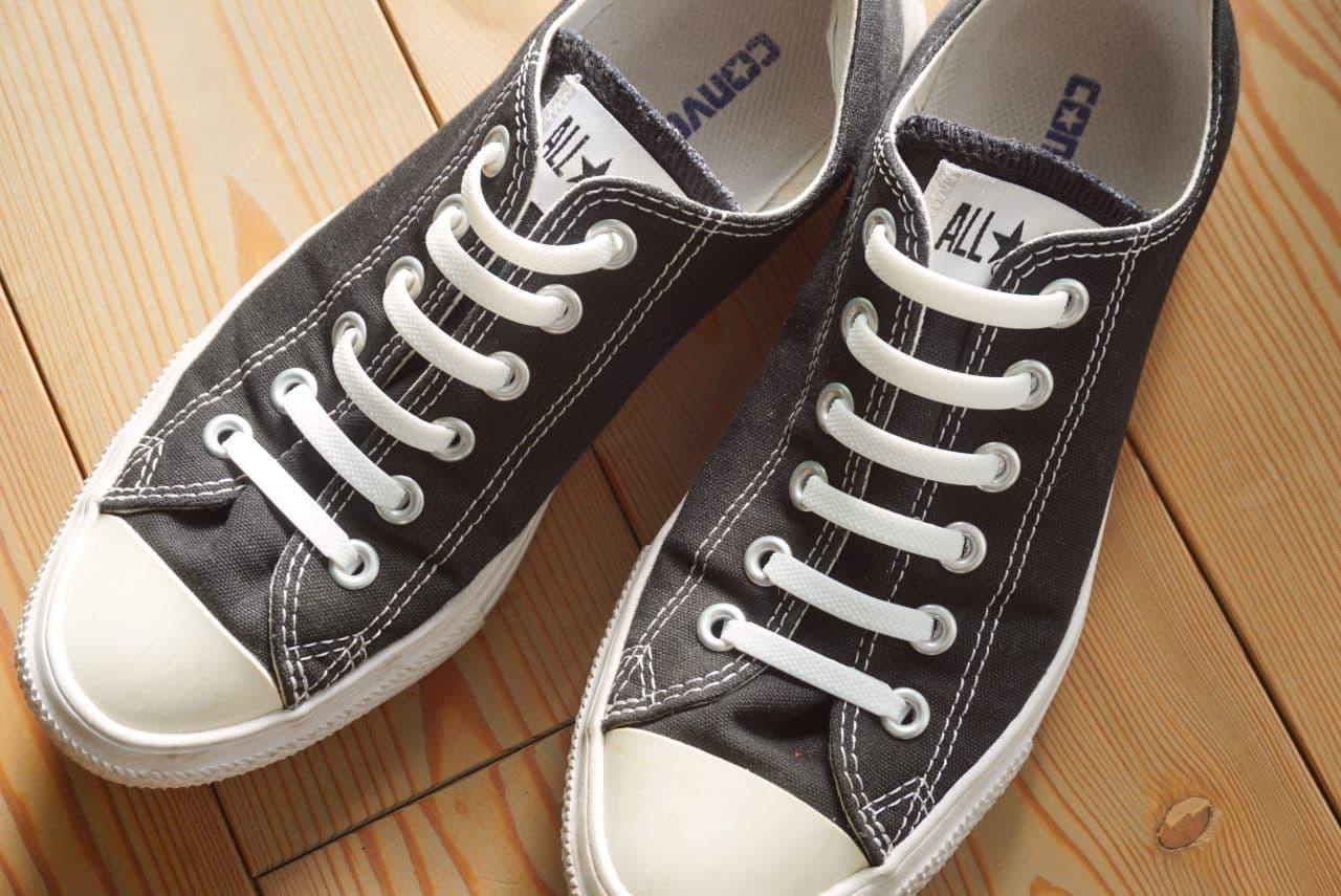 ダイソー「結ばない靴紐」