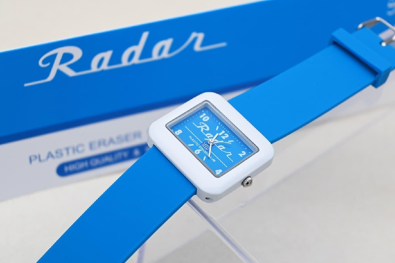 腕時計「SEED Radar 消しゴム 文具コラボッチ」