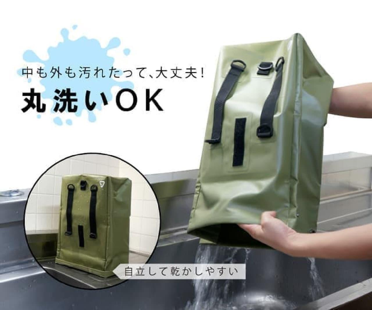ピザ&寿司も!ニオイ漏れ・傾きを防ぐ「テイクアウトバッグ」