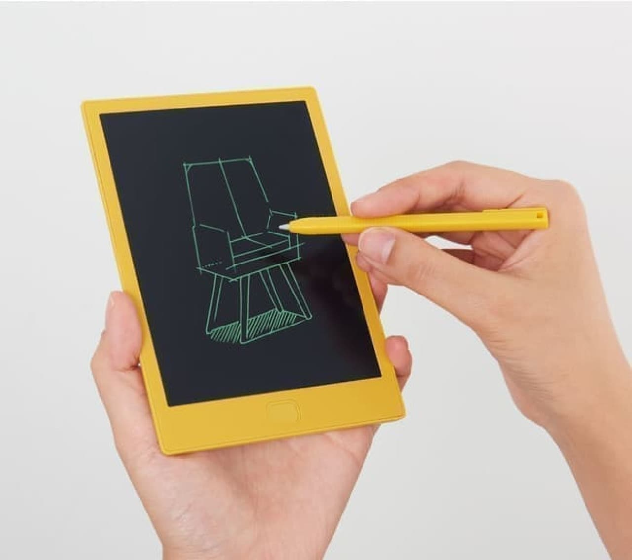 電子メモパッド「ブギーボード」からA6サイズ -- 書き心地なめらか&コンパクトに持ち運び