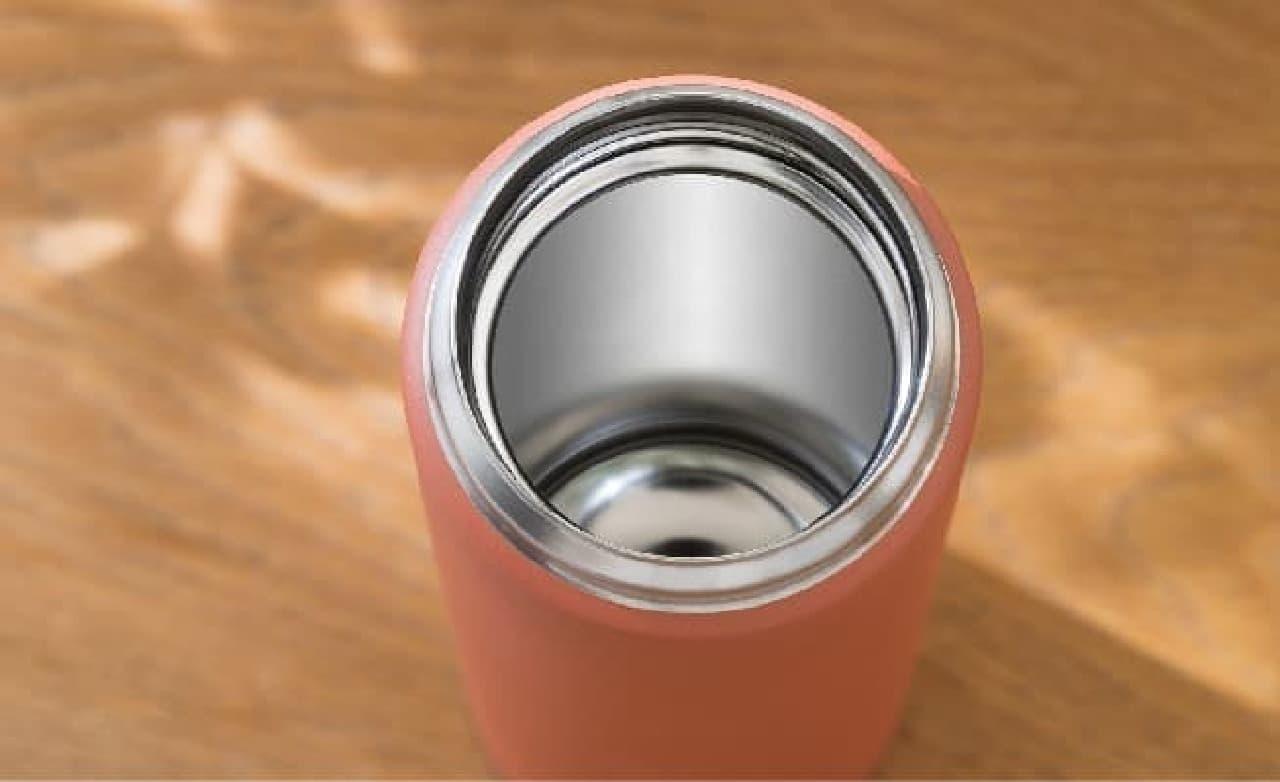 抗菌加工せんを採用したタイガー真空断熱ボトル