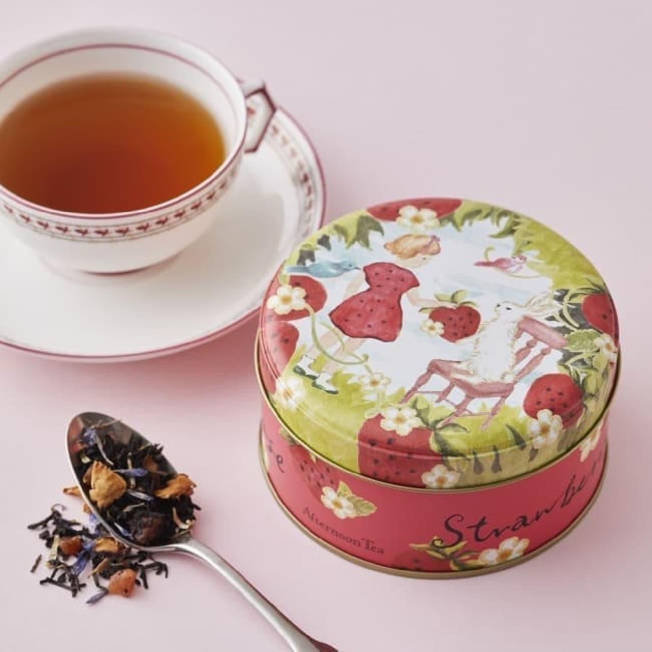 Afternoon Tea春季限定紅茶と焼き菓子