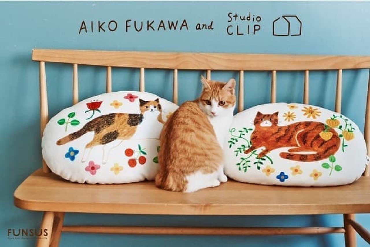 studio CLIP×布川愛子さんのコラボ雑貨!売上の一部は動物保護に