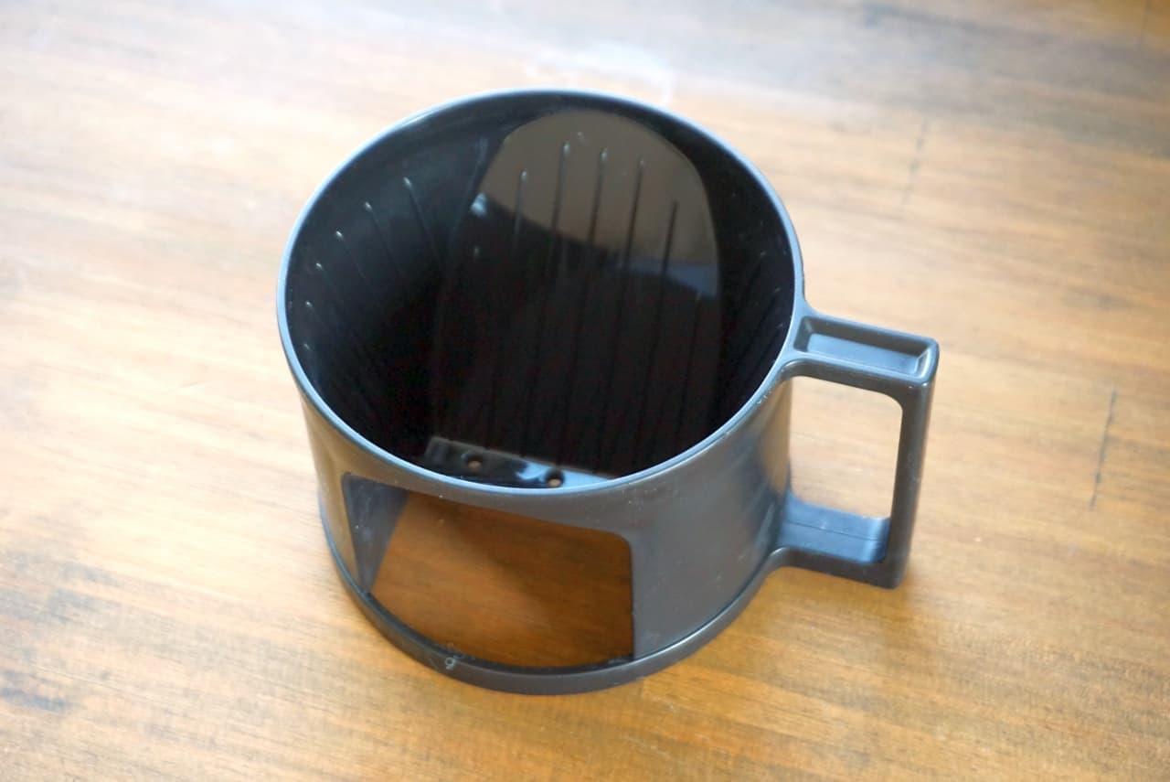 セリアドリップ量が確認できるコーヒードリッパー