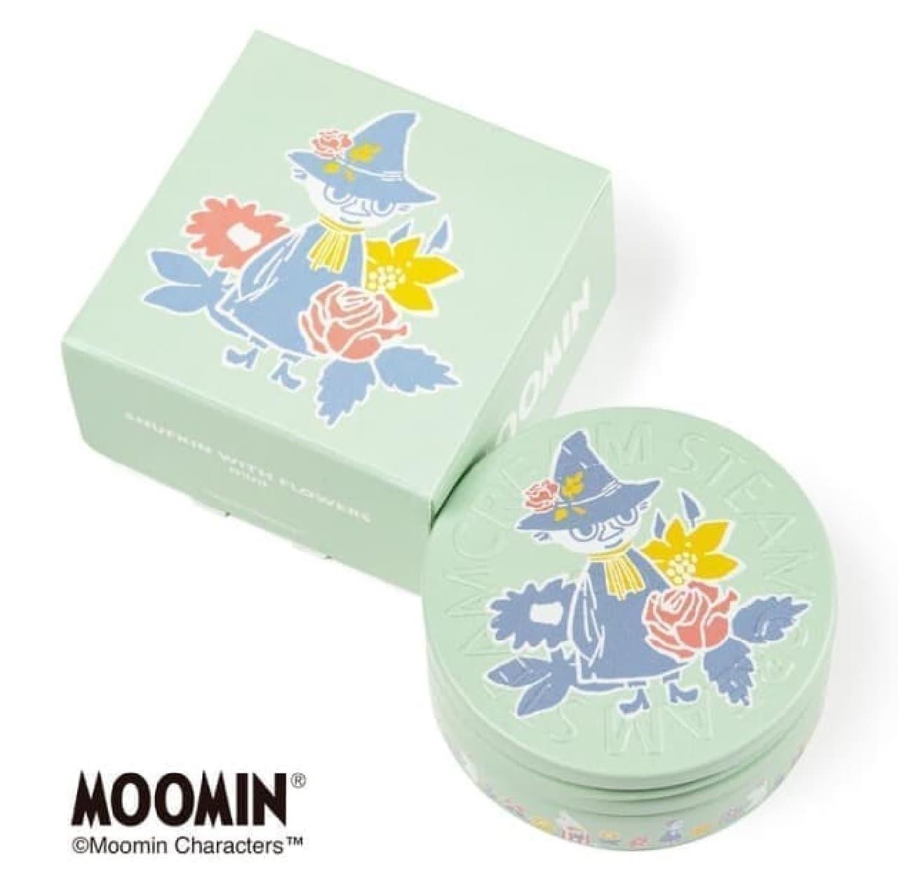 スチームクリームムーミンデザインのミニ缶セット