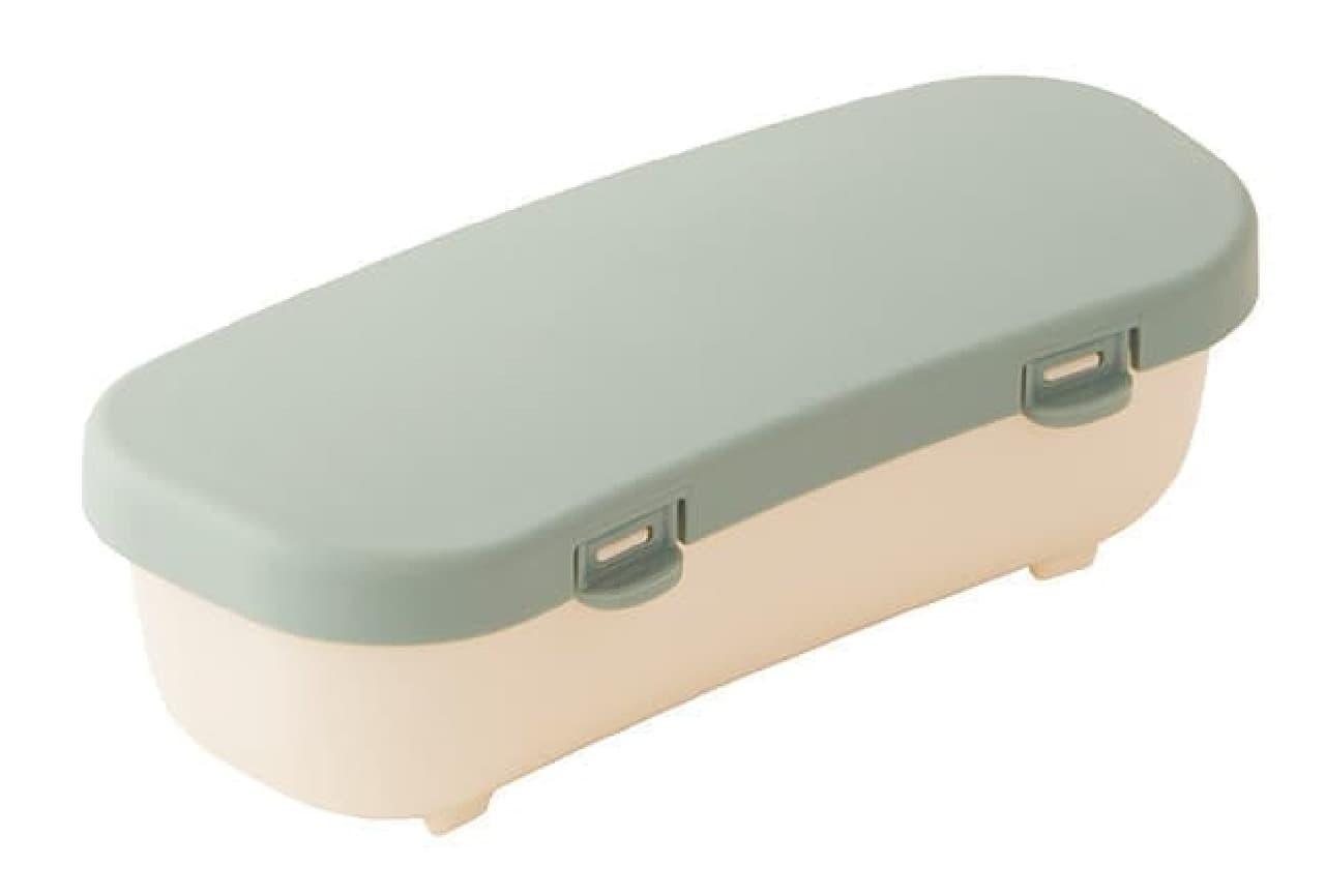 洗いやすい弁当箱「楽ランチボックス」マーナから -- 抗菌剤入りで衛生的