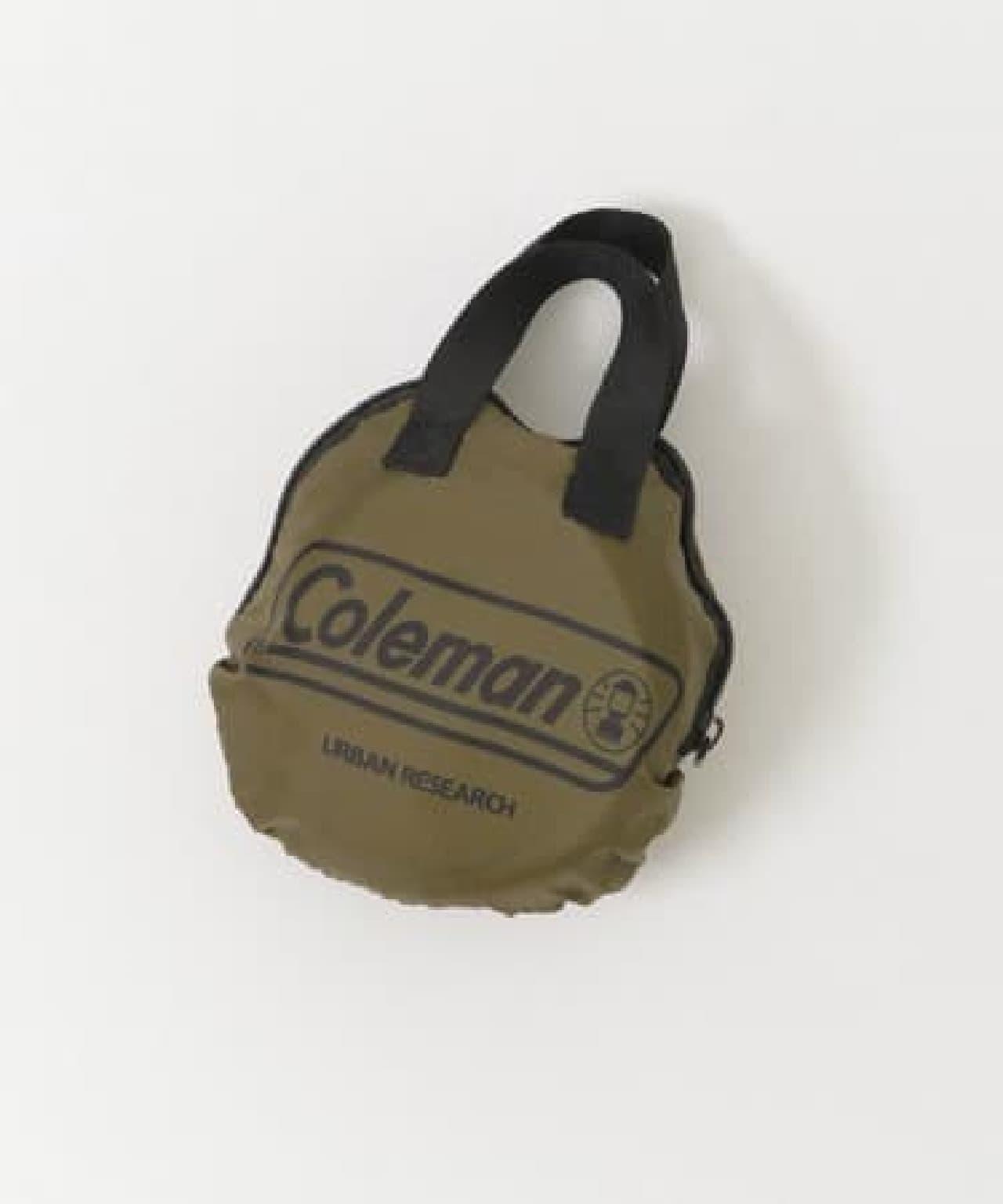 Coleman×URBAN RESEARCHコラボ新作 -- キャンプで役立つチェア・ ミニテーブルなど