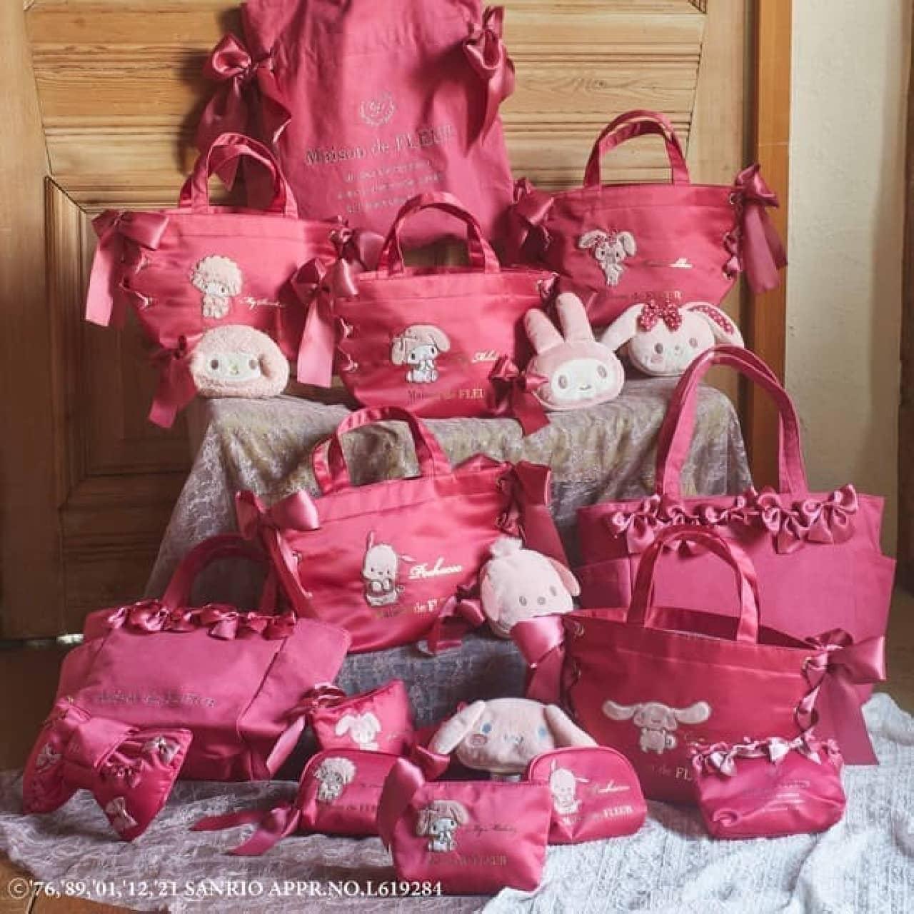 Maison de FLEURのバレンタインイベントPINK MANIA(ピンクマニア)