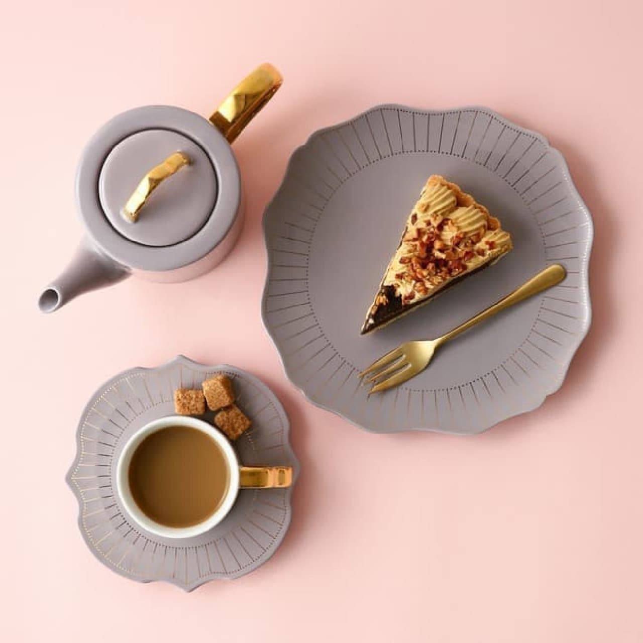 春の彩り♪ Francfranc新作テーブルウェア -- カップ&ソーサー・2段スタンドなど