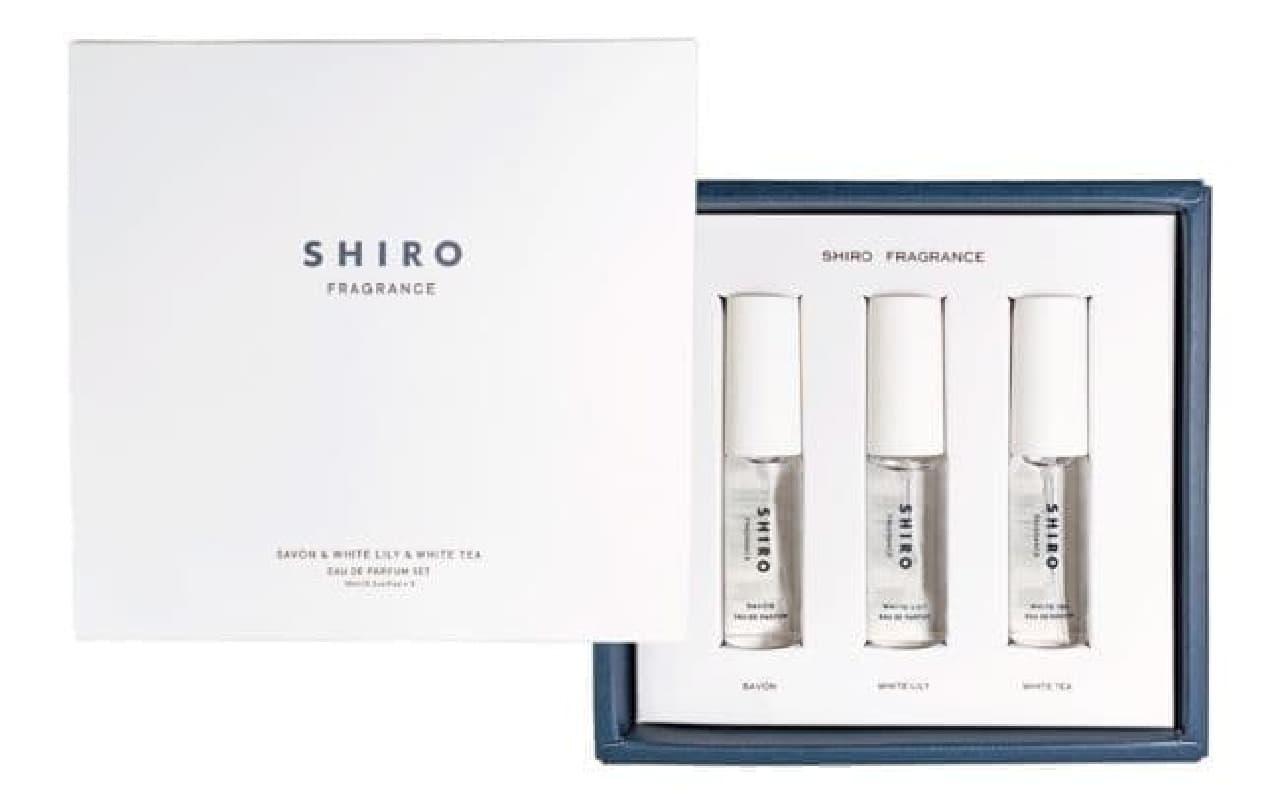 SHIRO「オードパルファンセット」