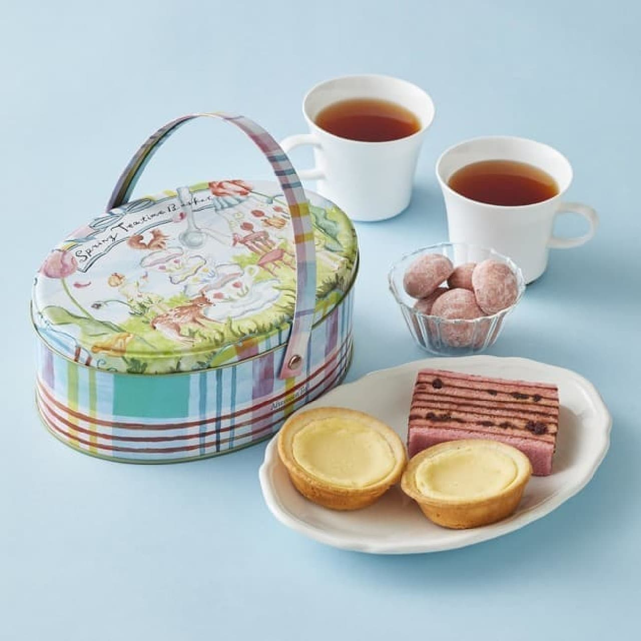 Afternoon Teaから春のお茶&お菓子セット