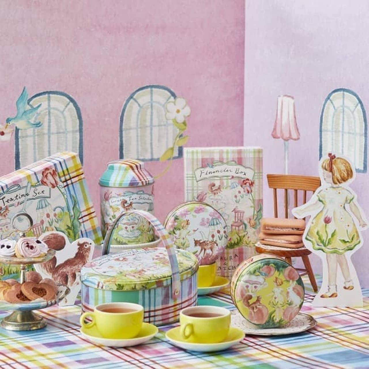 Afternoon Teaから春のお茶&お菓子セット -- トートバッグのプレゼント企画も