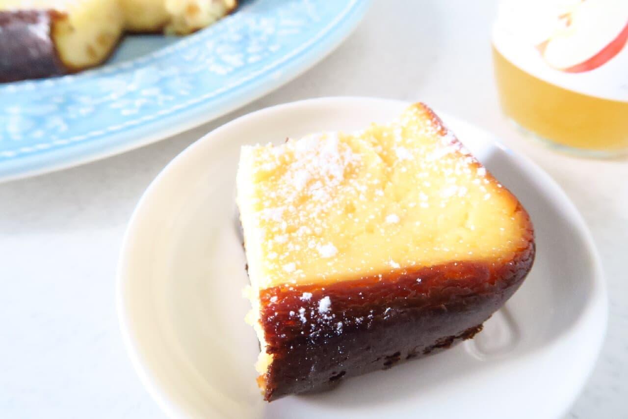 リンゴジャムのチーズケーキ