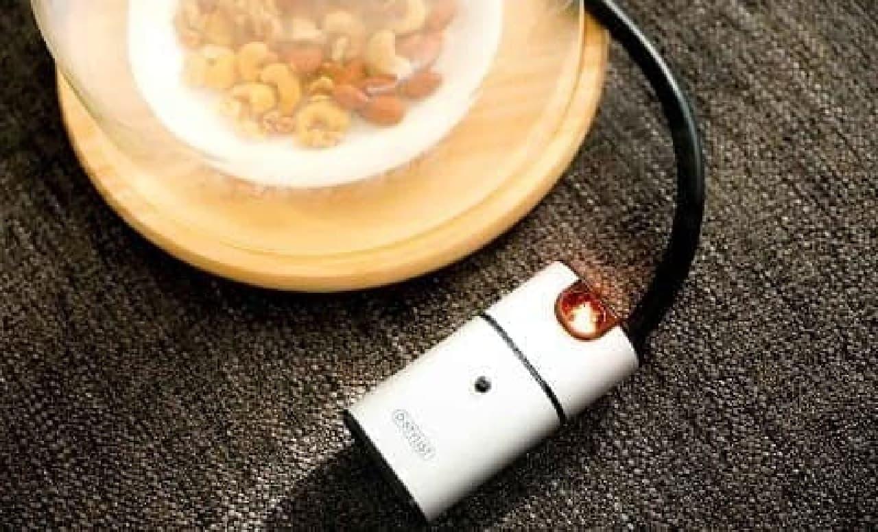 ポケットサイズの電池式燻製器がヴィレッジヴァンガードオンライン店