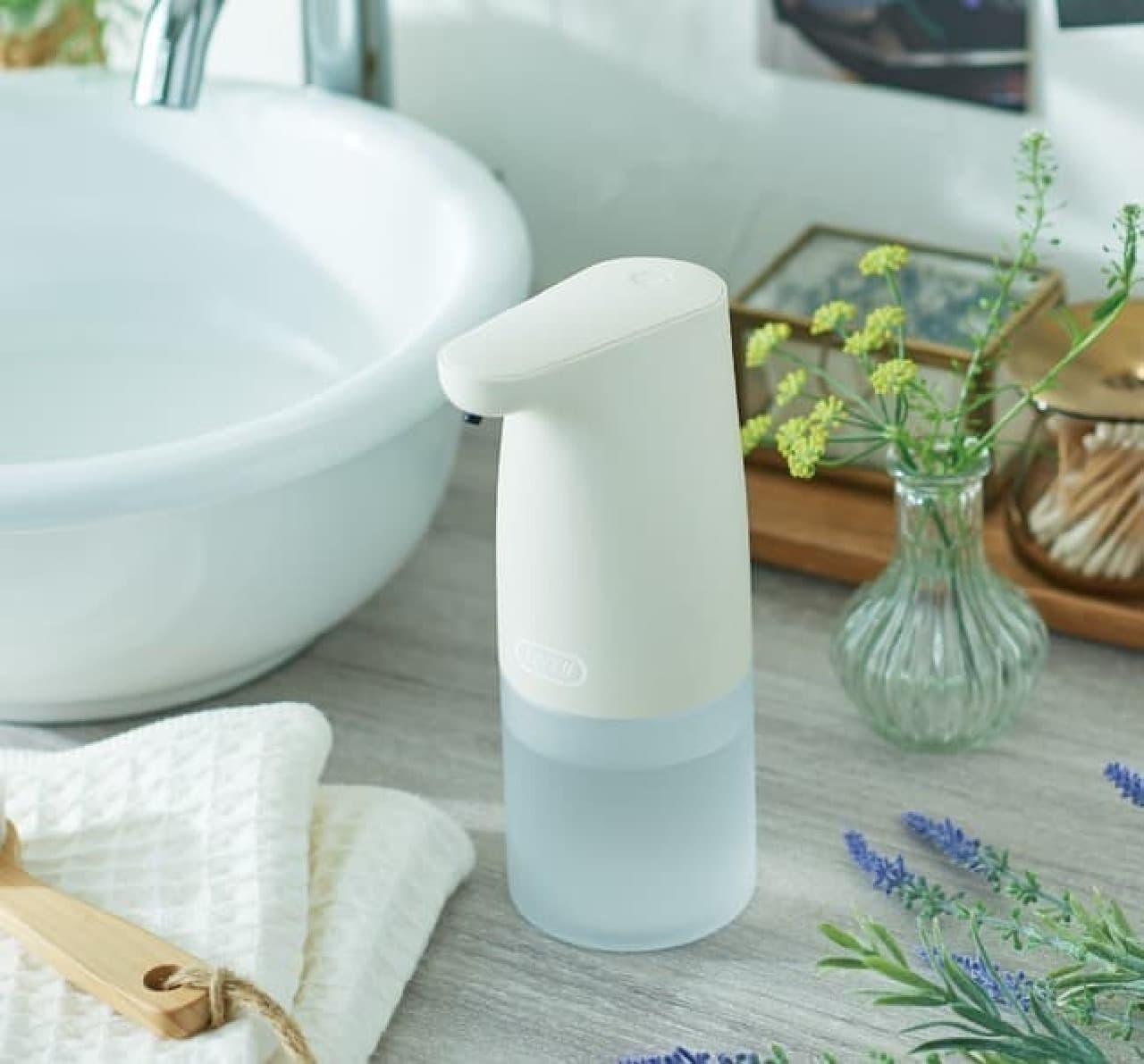 レトロ可愛い「Toffy オートソープディスペンサー」発売 -- 手洗いを簡単&衛生的に