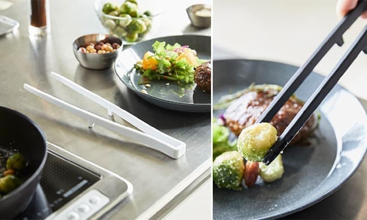 山崎実業からシリコーンコーティングのキッチンツール