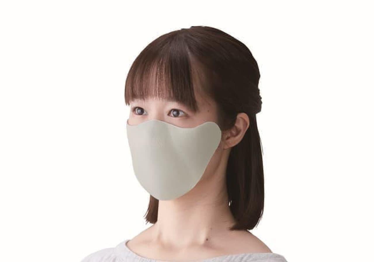 耳が痛くならない「ひもなしマスク」キングジムから -- 長時間快適に