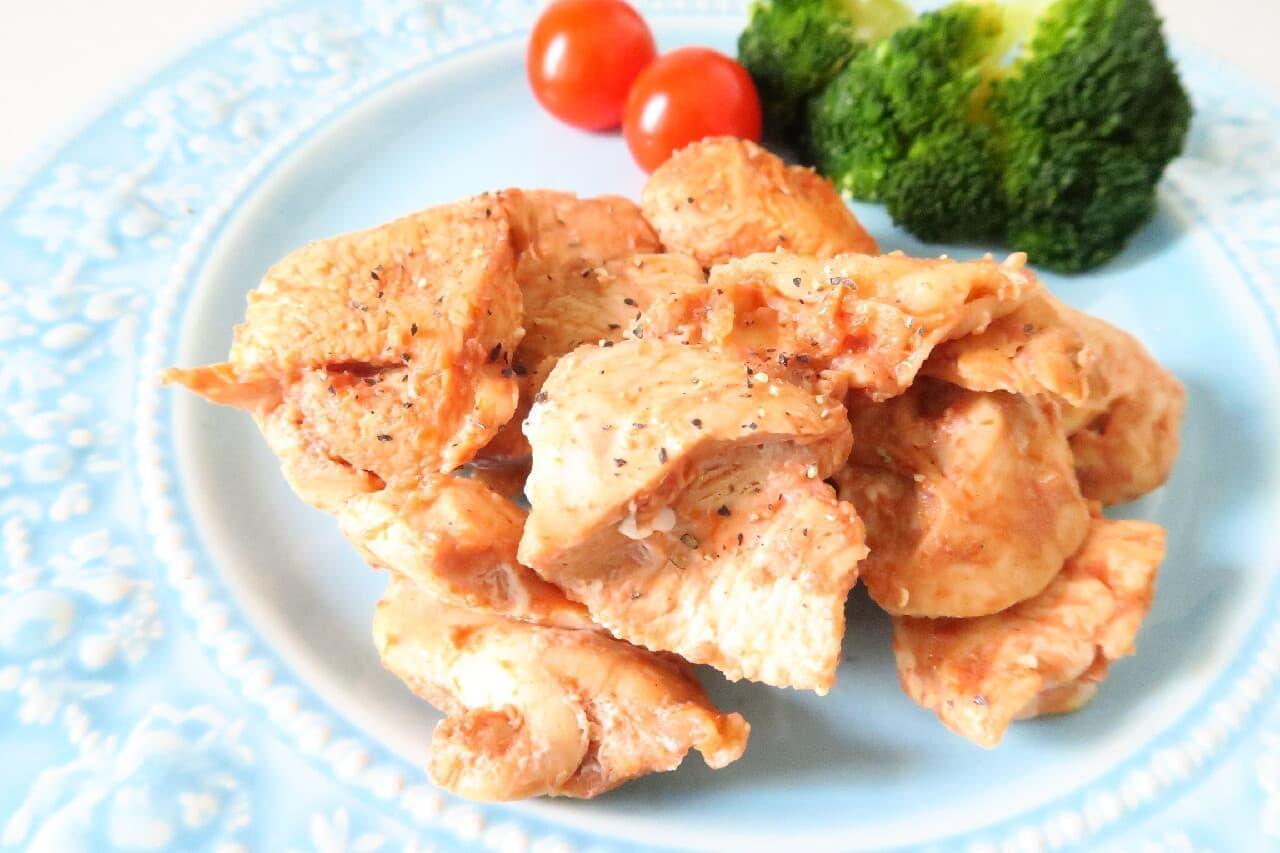 やさしい甘さ&コク♪ 鶏肉のケチャップ漬け -- 下味冷凍の簡単レシピ