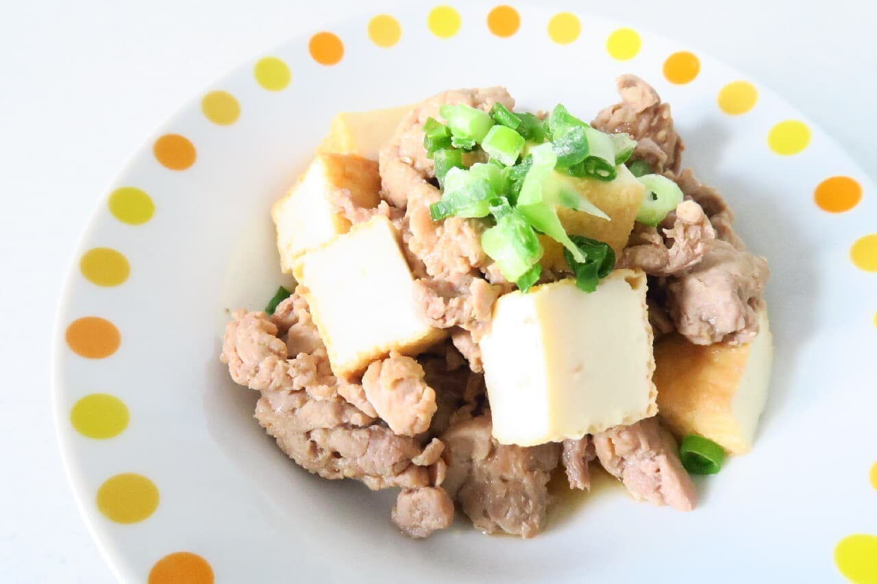 焼肉のタレで簡単♪ 肉豆腐のレシピ -- 甘辛のやさしい味わい
