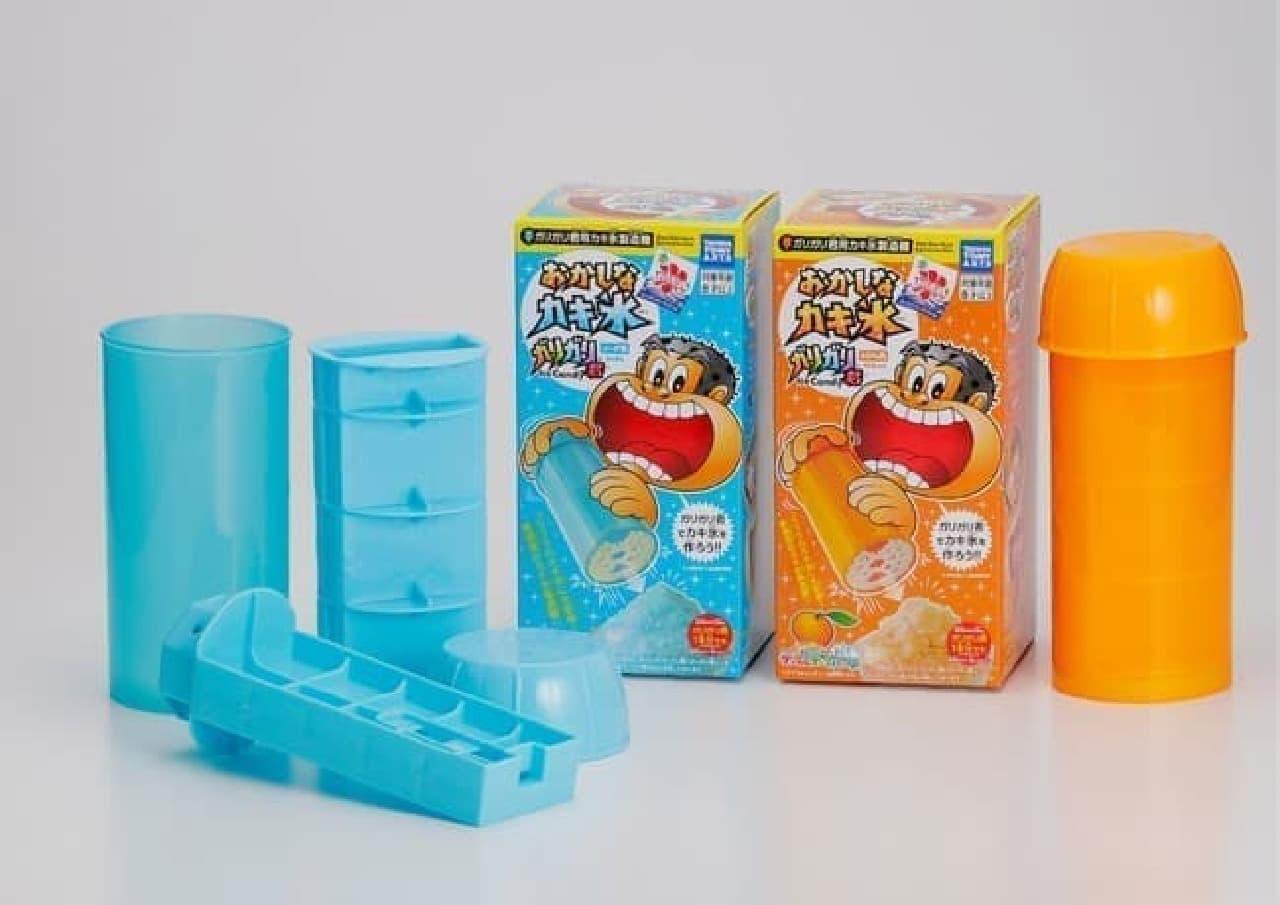 発売から10年!「おかしなカキ氷 ガリガリ君」復刻版 -- ふわふわのかき氷が簡単に