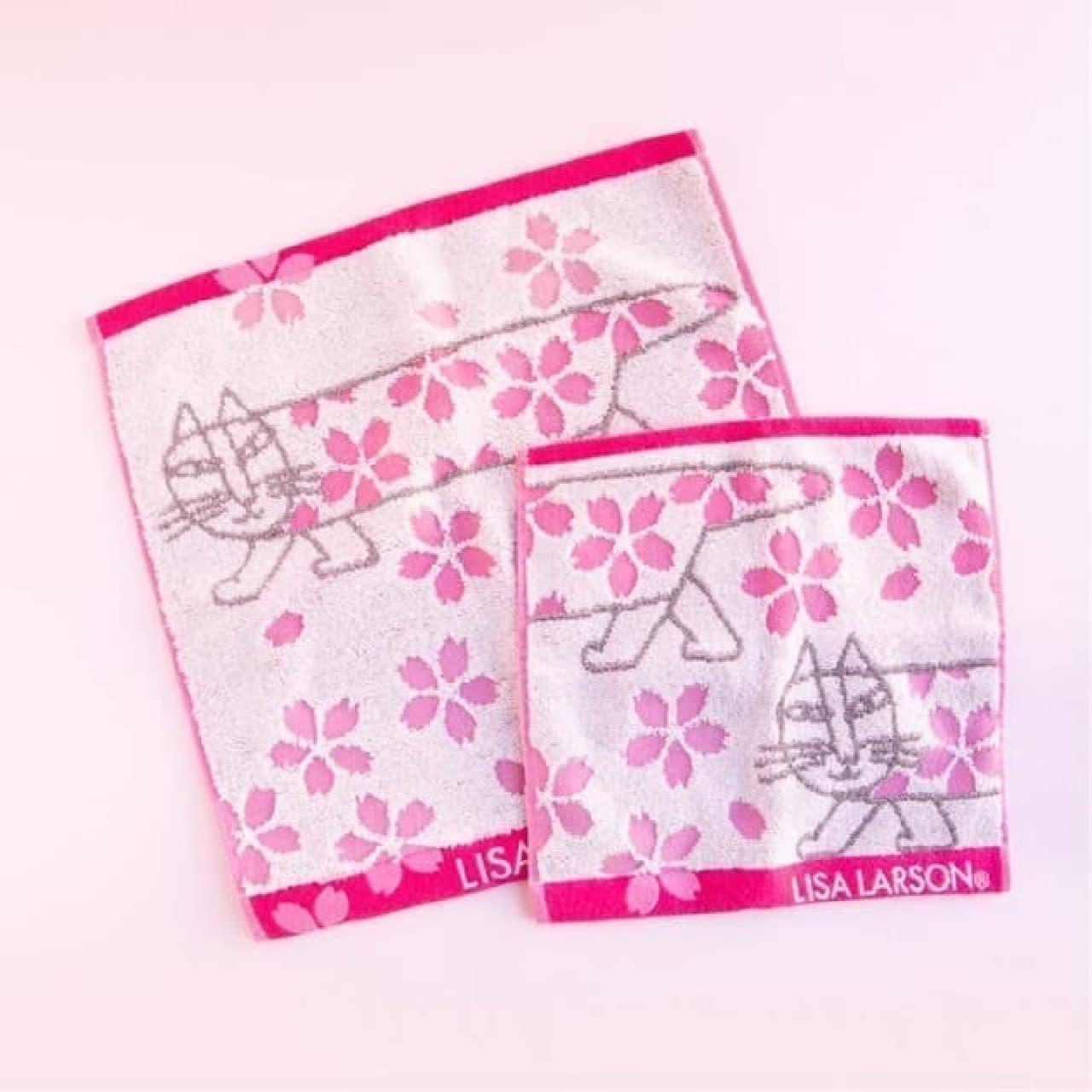 リサ・ラーソン×桜デザイン!春を楽しむ豆皿・タオルなど