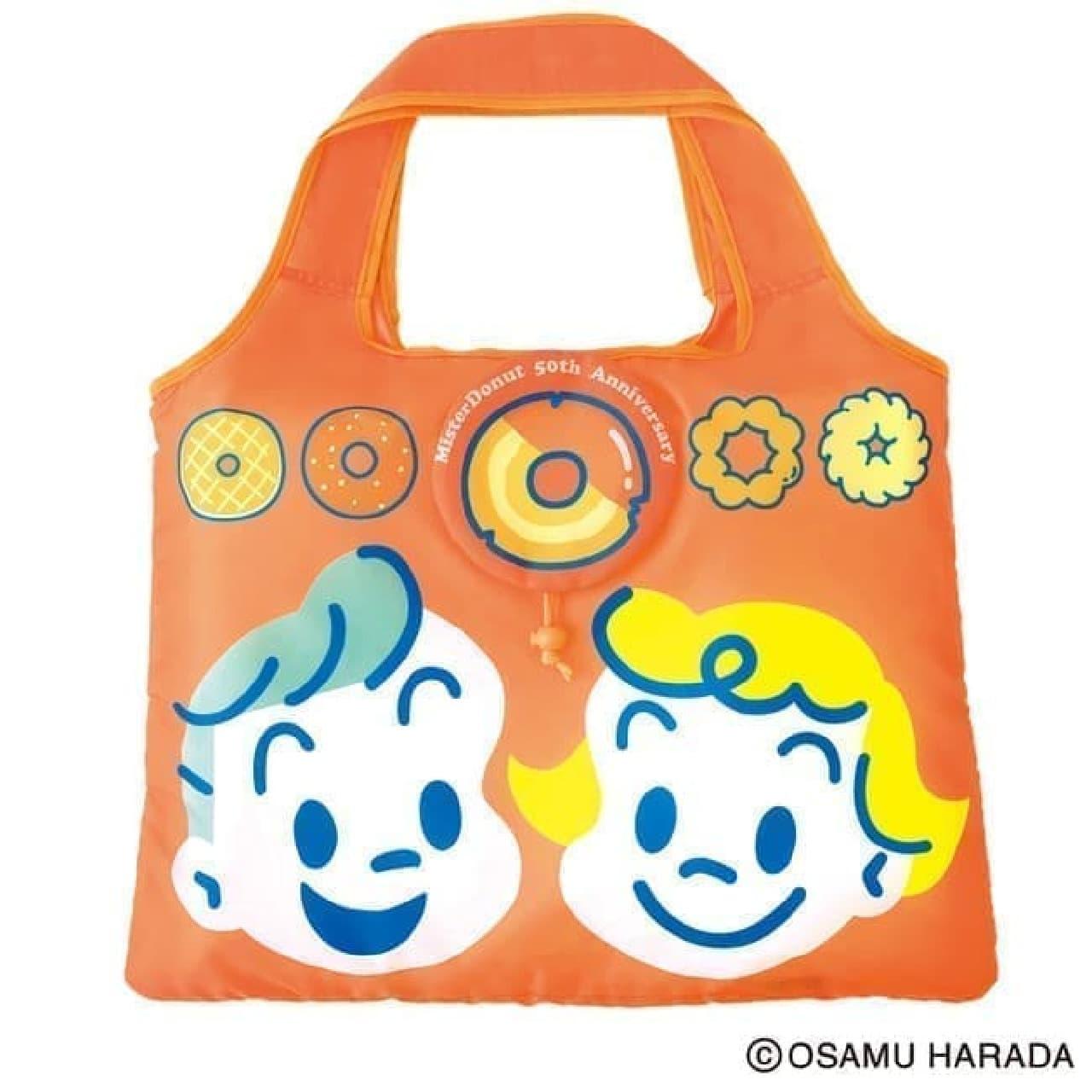 公式ガイドブック「ミスタードーナツ 50th Anniversary Book」原田治さんのバッグ付き