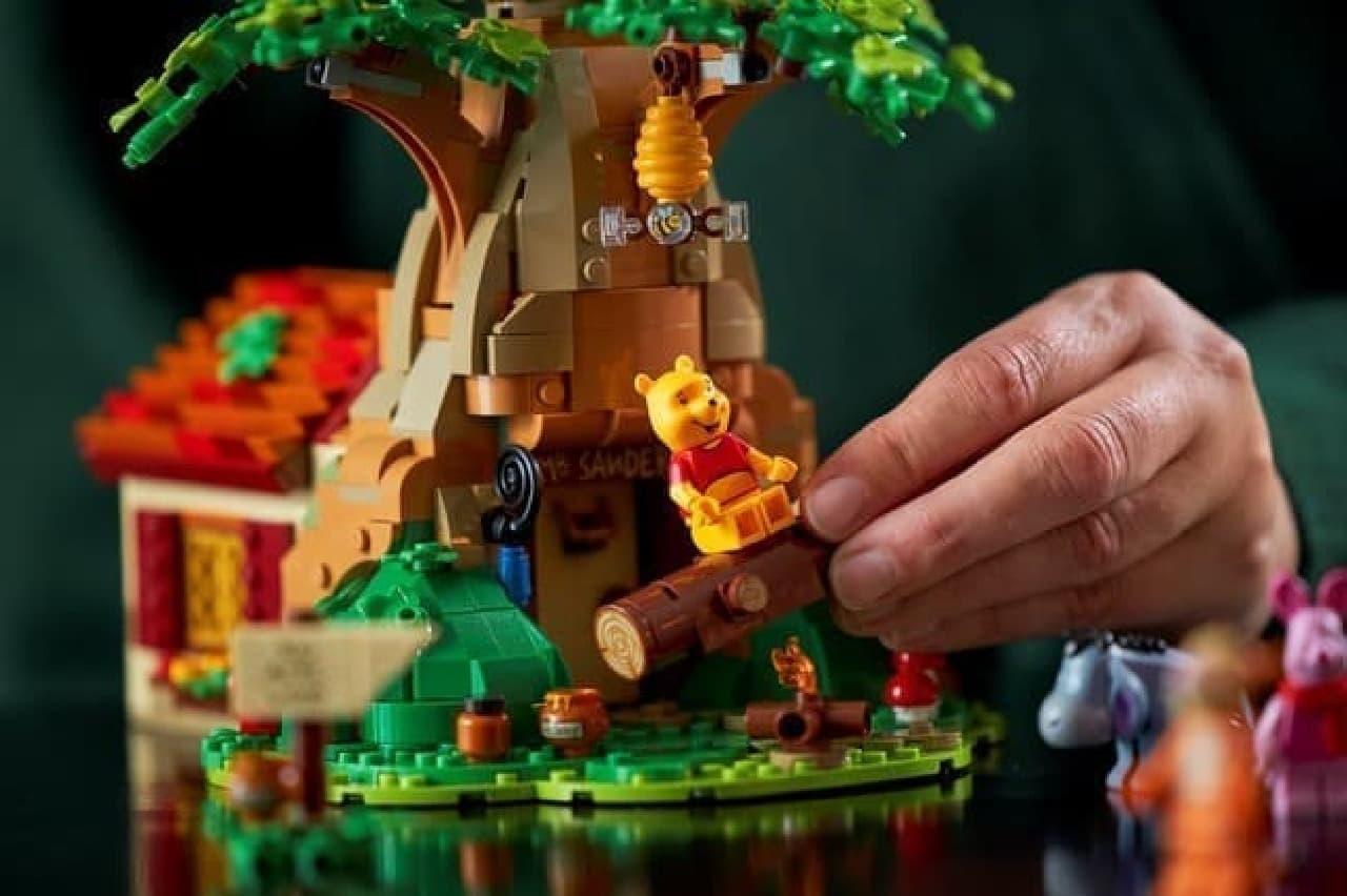大人向け「レゴ くまのプーさん」発売 -- ノスタルジックな世界を再現