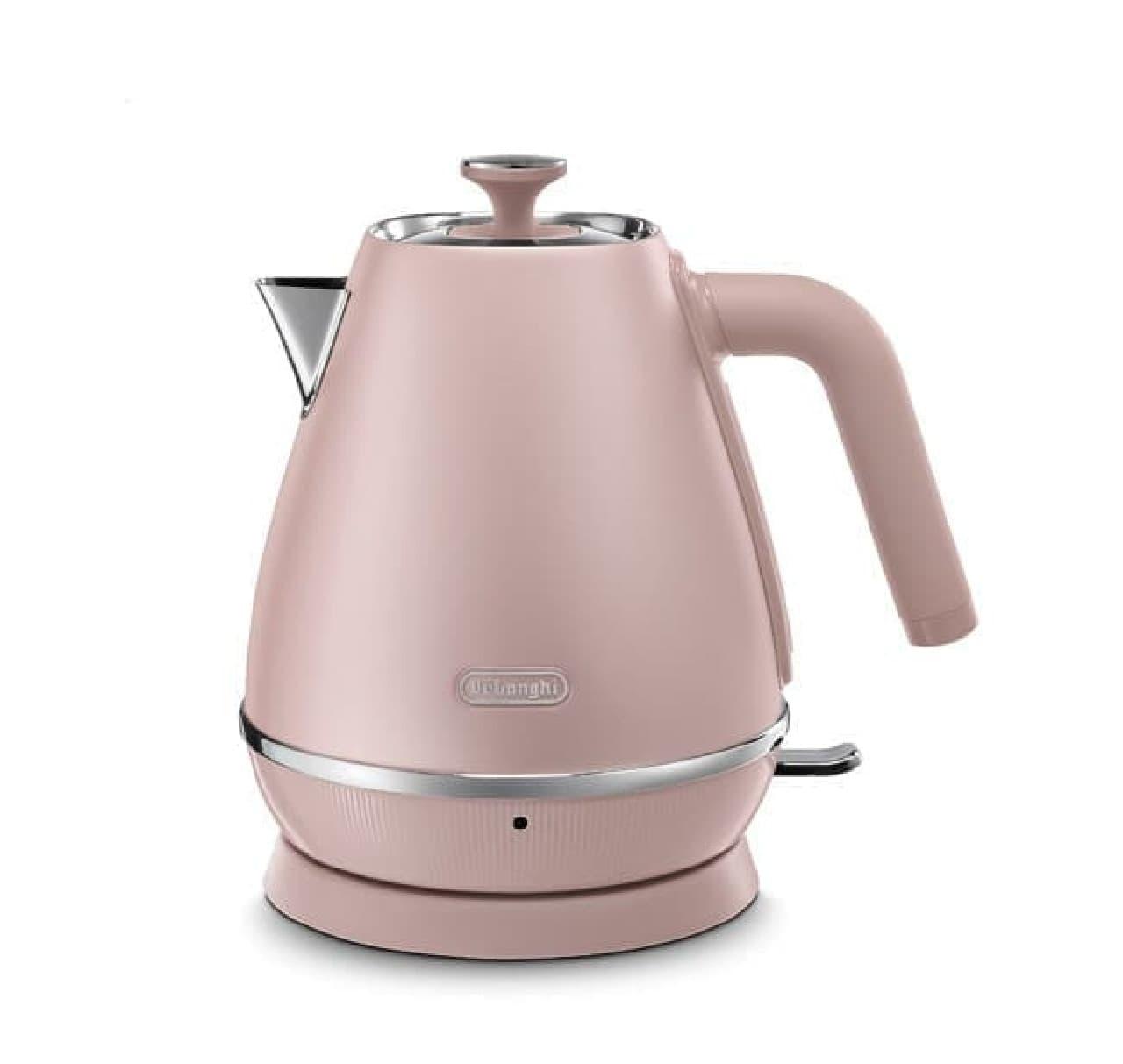 上品なピンクのオーブン&トースター♪「デロンギ ディスティンタ・ペルラ コレクション」発売
