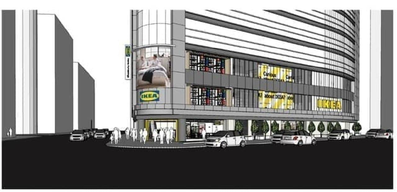 IKEA新宿がオープン