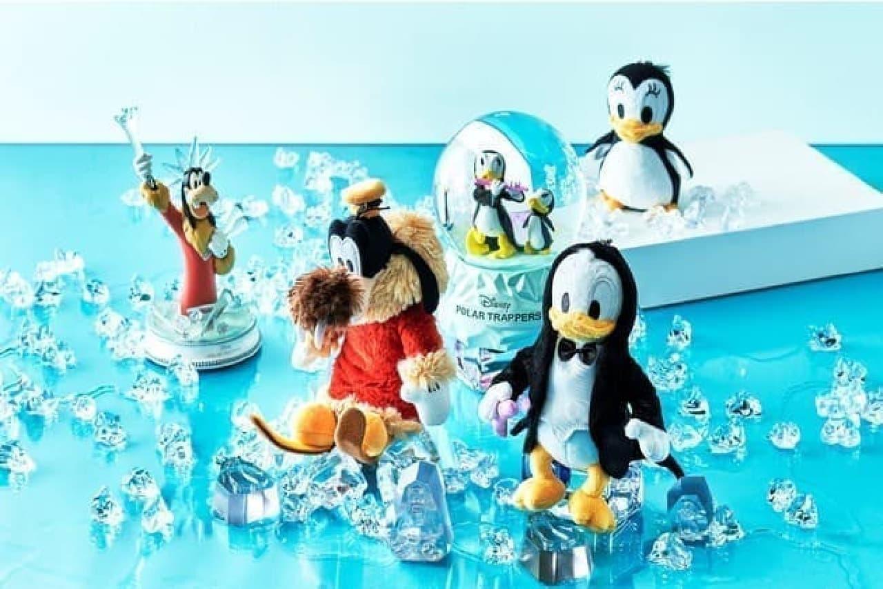 「ドナルドの南極探検」モチーフ!涼し気なハンディファンなどがディズニーストアに