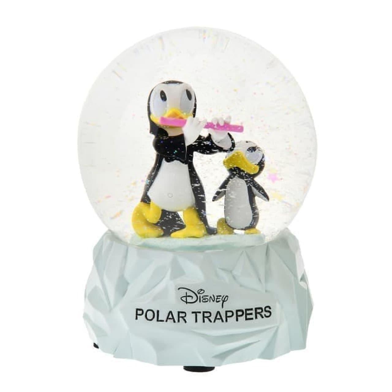 「ドナルドの南極探検」をモチーフにした「POLAR TRAPPERS」シリーズ