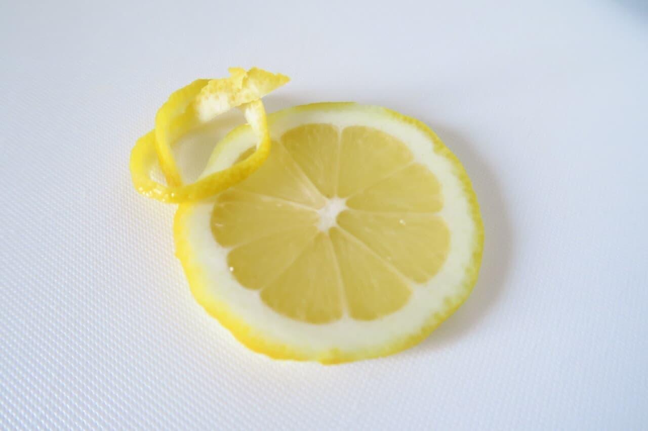 レモンの飾り切り