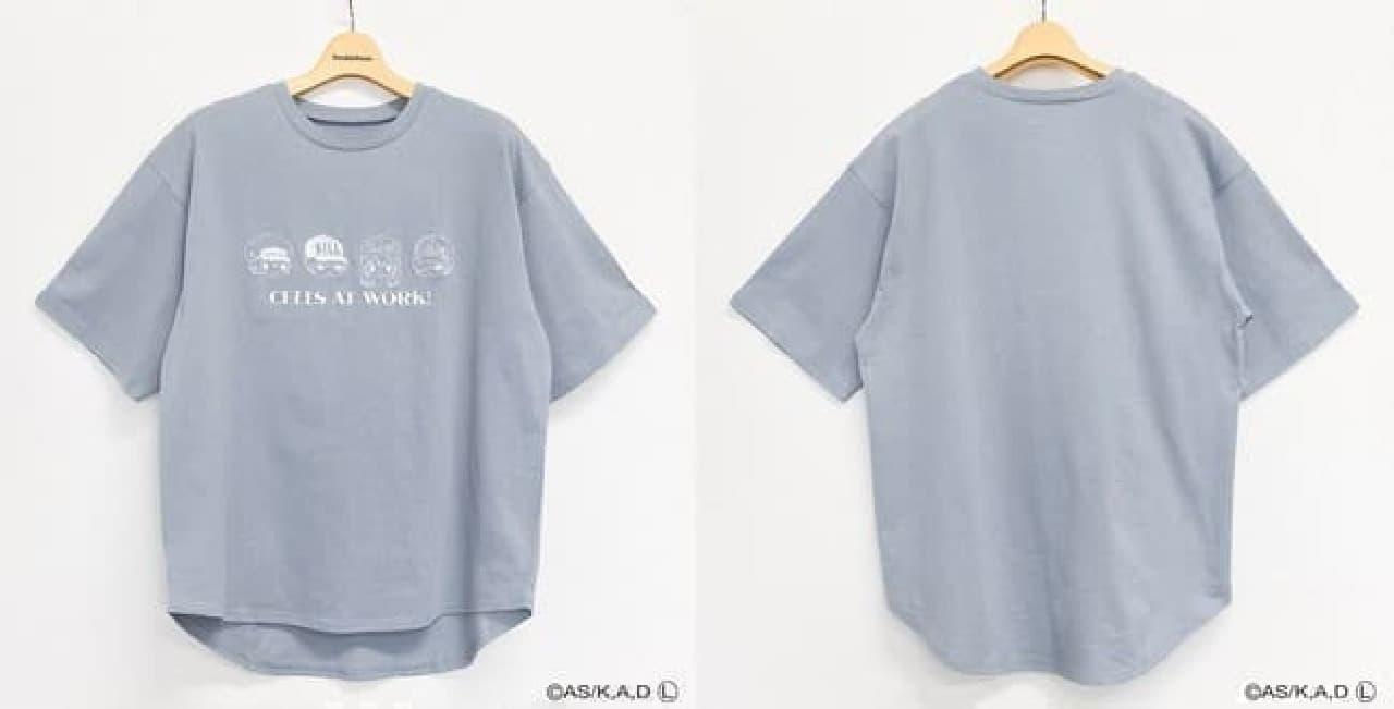 はたらく細胞×サンリオのコラボTシャツがイオンに -- パーカ・ルームウエアなども