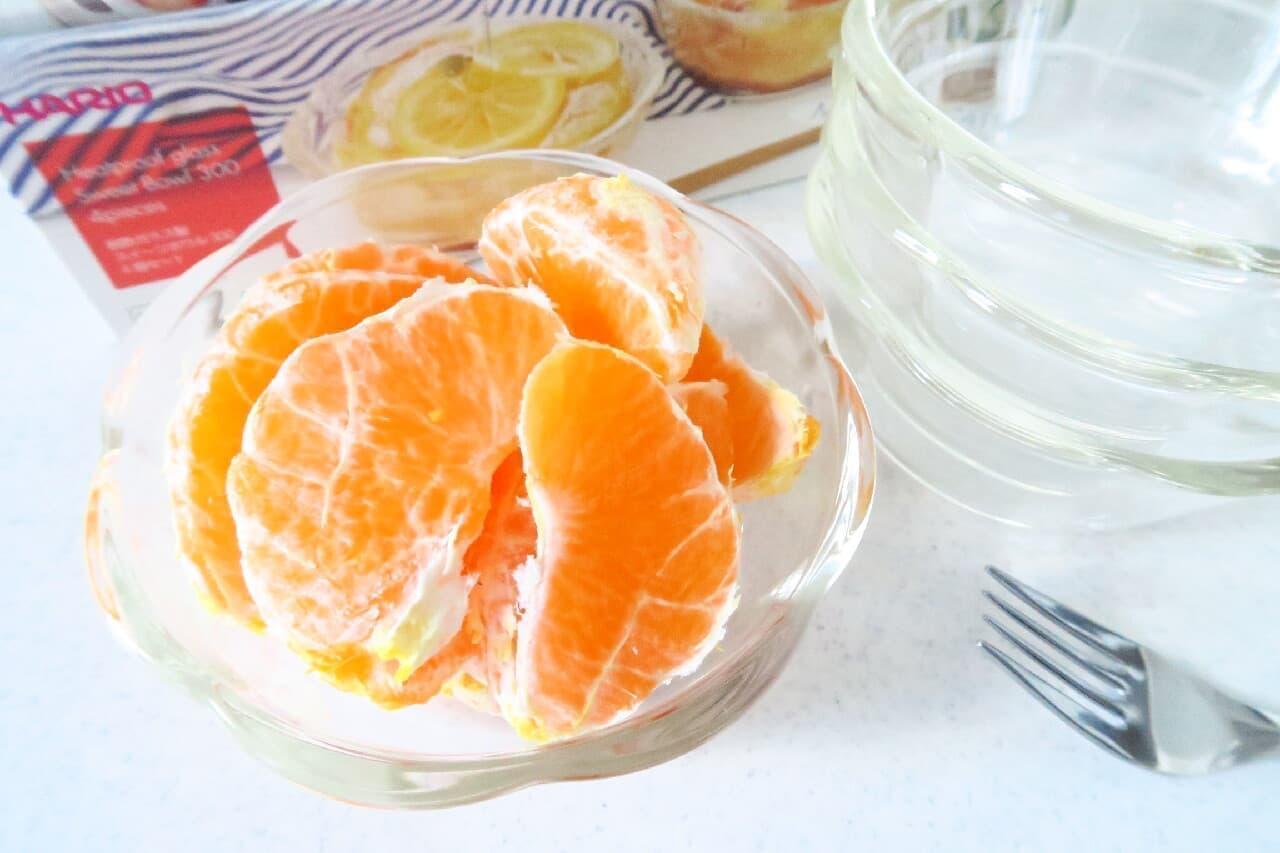 ハリオ「耐熱ガラス製スイーツボウル」レビュー -- デザート&オーブン料理に♪