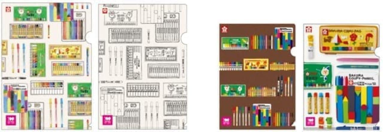 サクラクレパス100周年記念商品 -- サクラデザインのマステ・エコバッグなど