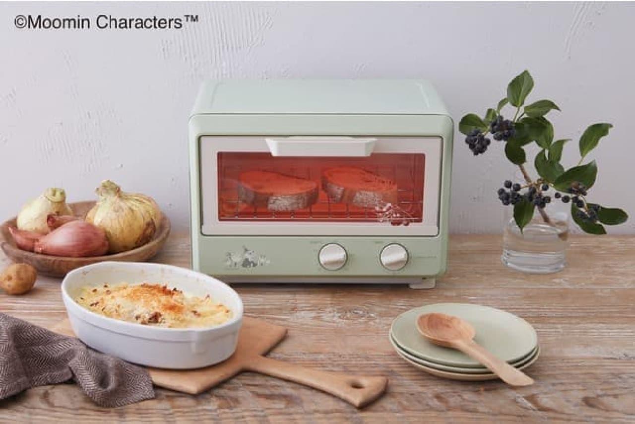 ムーミン×レコルトがコラボ!人気のコンパクトオーブンなど4製品