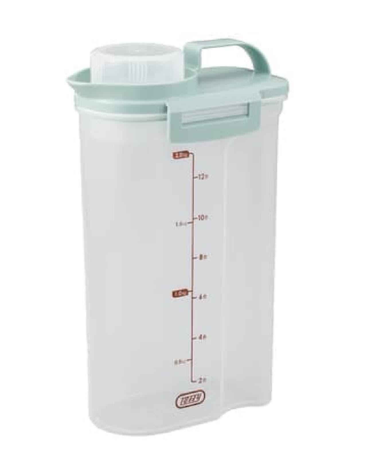 お米の鮮度キープ♪ Toffy 冷蔵庫用ライスストッカー登場 -- 移し替え・手入れも簡単
