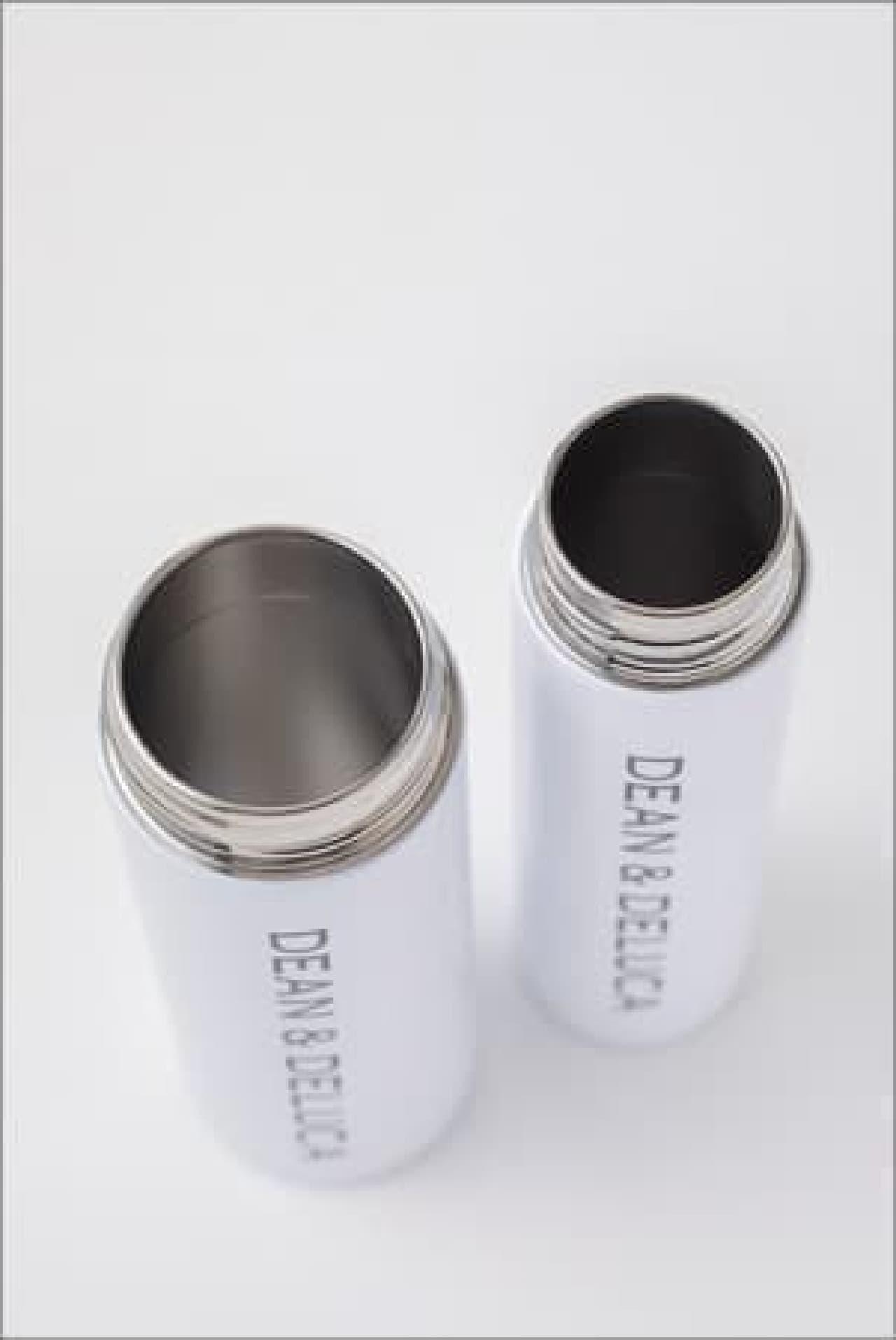 DEAN & DELUCAの「レジかご買物バッグ+ストラップ付き保冷ボトルケース」