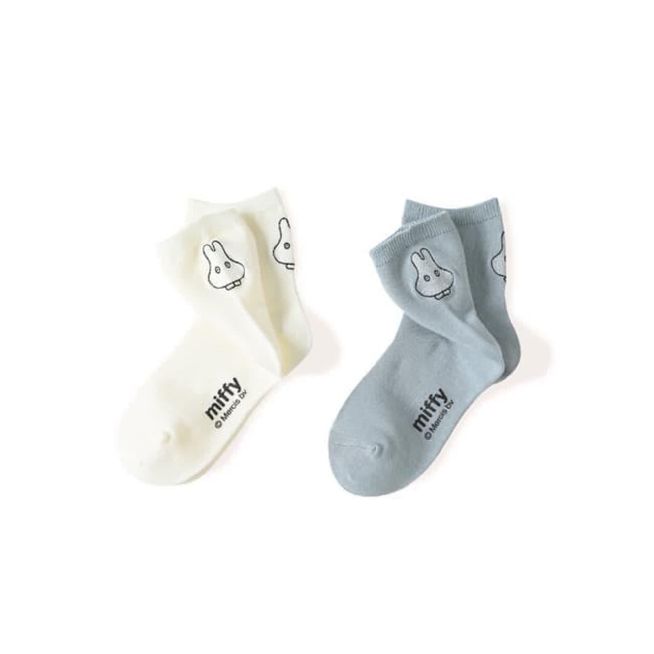ミッフィーと靴下屋のコラボレーション靴下