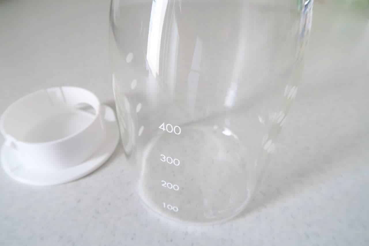 イオン「耐熱ガラス冷水筒」が使いやすい♪ 水出しコーヒーも手軽に