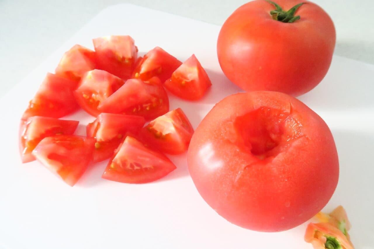 丸ごともOK♪ トマトの冷凍保存法 -- 電子レンジ使用の簡単レシピ付き