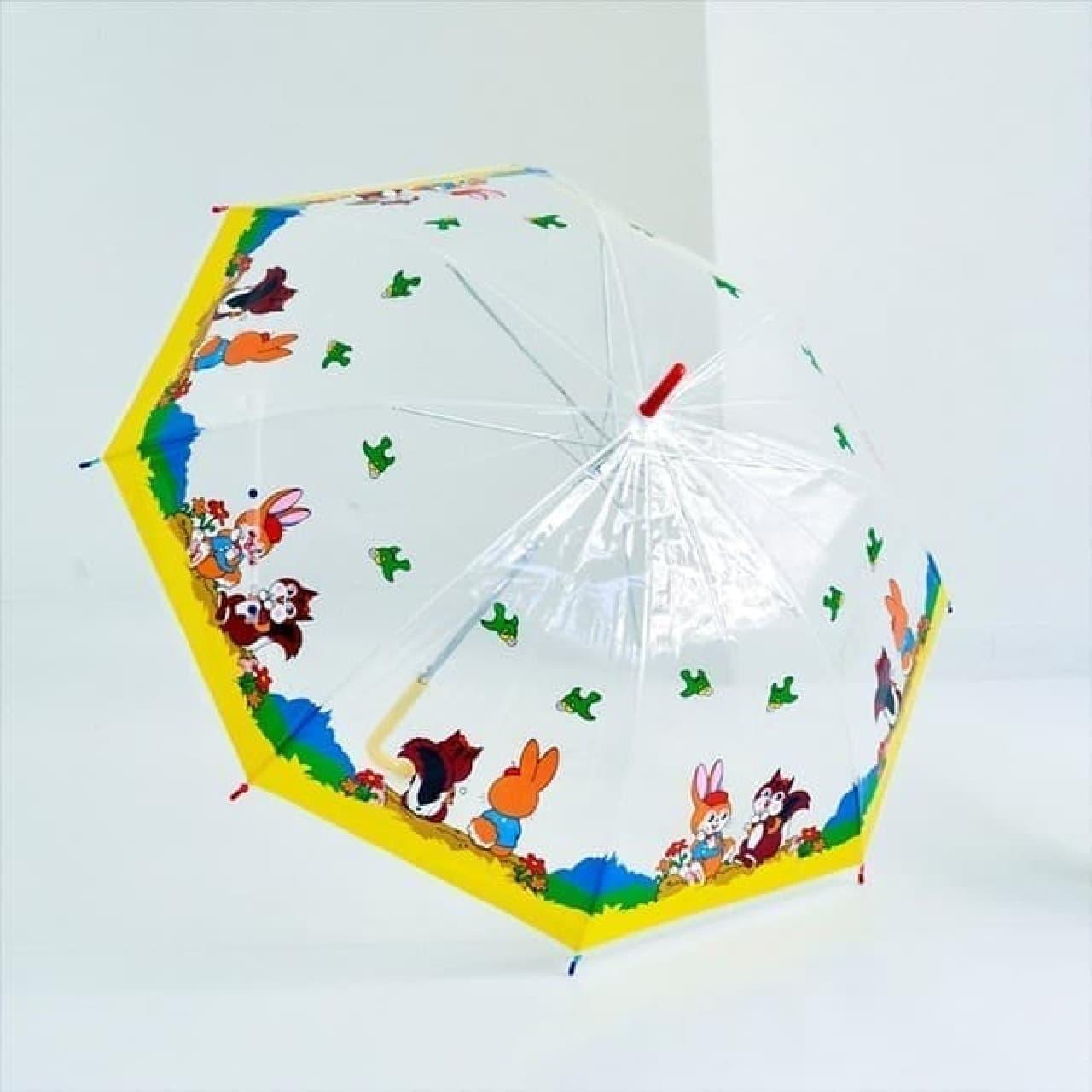 クッピーラムネ柄の可愛い傘