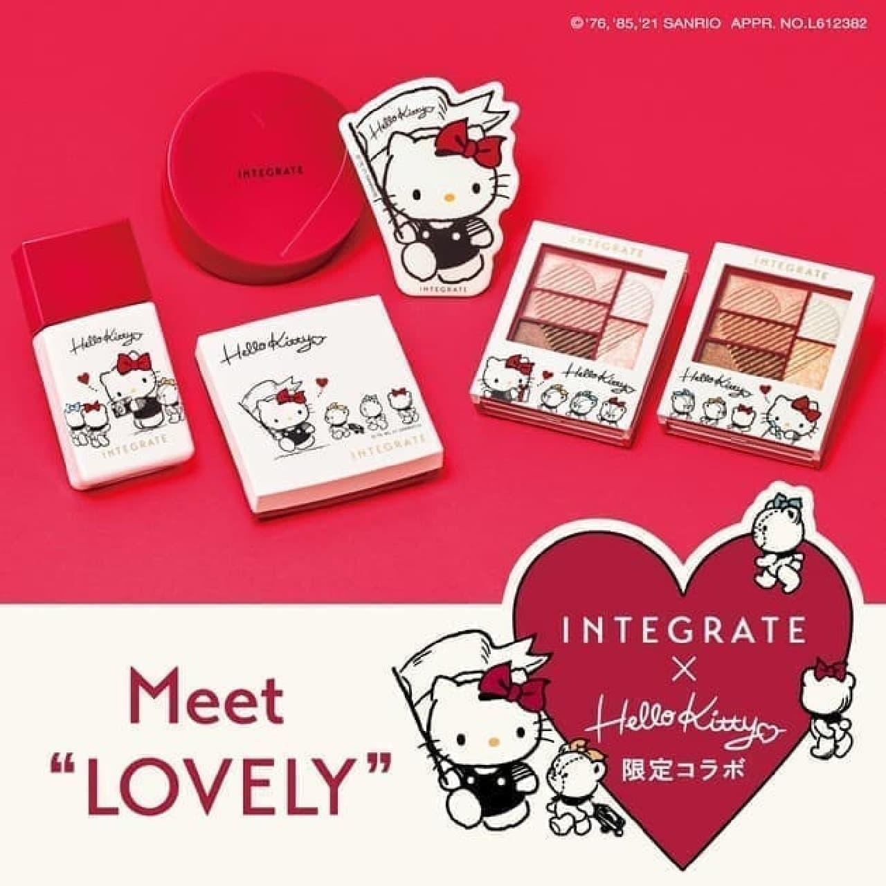 """インテグレート×ハローキティ「Meet """"LOVELY""""」"""