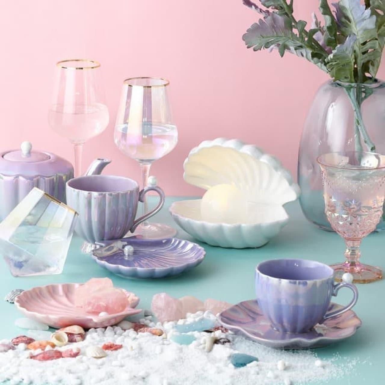 涼しい貝殻モチーフ♪ Francfrancから夏のテーブルウェア